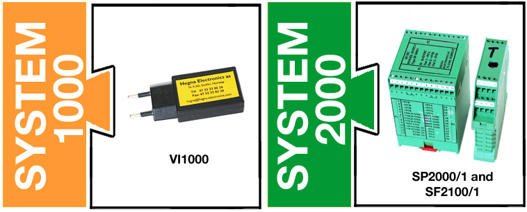 Hegna Electronics - system 1000 and 2000